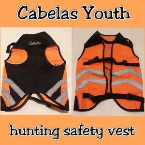 Cabelas youth hunting safety vest